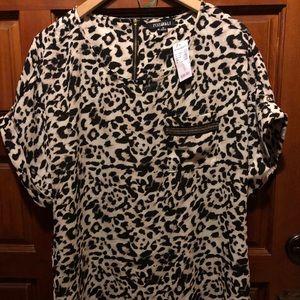Roz & Ali leopard top